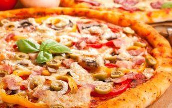 DVĚ křupavé pizzy za skvělou cenu!