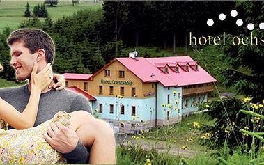 4 - denní nebo 5 - denní romantický pobyt pro dva s polopenzí! Sauna, whirlpool, tříchodové večeře. Ideální wellness a cyklo-dovolená!