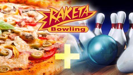 HODINA BOWLINGU a DVĚ PIZZY dle vašeho výběru s 51% slevou jen za 298 Kč!! Kvalitní bezšňůrový bowling, klimatizace, dvě restaurace, letní terasa!! Užijte si váš volný čas za minimální cenu!!