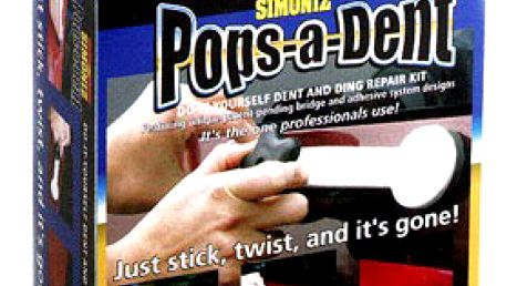 SADA s nářadím POPS A DENT na opravu pomačkaných plechů na automobilu + DÁREK korekční tužka na poškrábaný lak v hodnotě 198 Kč!