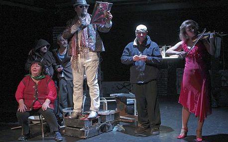 Zabávajte sa na divadelnej hre DELÚZIA - v zajatí nepokojnej mysle! Už 1.júna 2012 v divadle SkRAT len za 2,50€