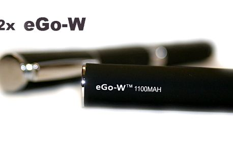 2x E-cigareta eGo-W! 1100mAh je To nejlepší, co se dá na trhu v ČR koupit v oblasti e-kouření a poštovným ZDARMA!