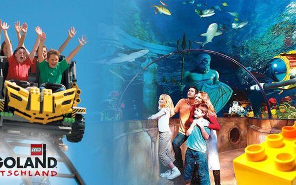 Svátek dětí v bavorském Legolandu Günzburg – den plný her, dobrodružství a napětí nejen pro děti, ale i jejich rodiče a prarodiče! Sobota 9. června 2012. Cena obsahuje dopravu a celodenní vstupenku.