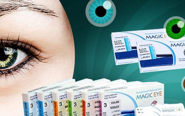 52% sleva na barevné čočky Magic Eye!