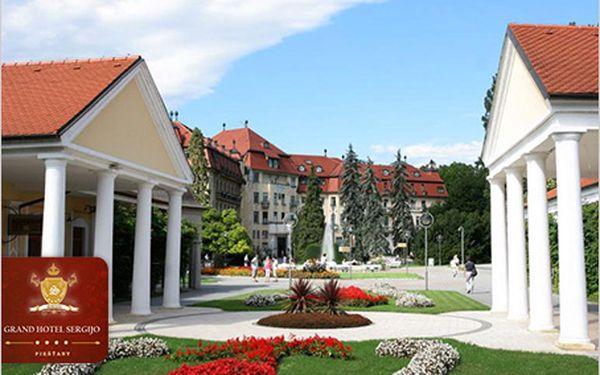 Exkluzivní 3 dny pro DVA v luxusním 4* Grand Hotelu Sergijo v Piešťanech!