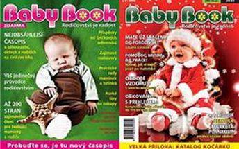 8 čísel časopisu Babybook za 199 Kč, přečtěte si nejnovější vydání! Těhotenství, děti, rady odborníků, výživa a mnoho dalších zajímavých rubrik za skvělou cenu