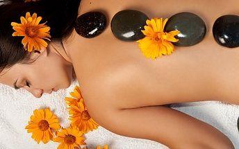 Relaxační masáž celého těla! Zajděte si na 90minutovou relaxační masáž celého těla propojenou s havajskou masáží lávovými kameny!