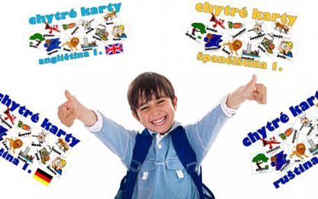 Propojte učení se zábavou ! Pouze 93 Kč chytré karty od chytré Loly nejen pro vaše děti, které jsou nejoptimálnější ke vzdělávání cizích jazyků ! Sleva 40 %
