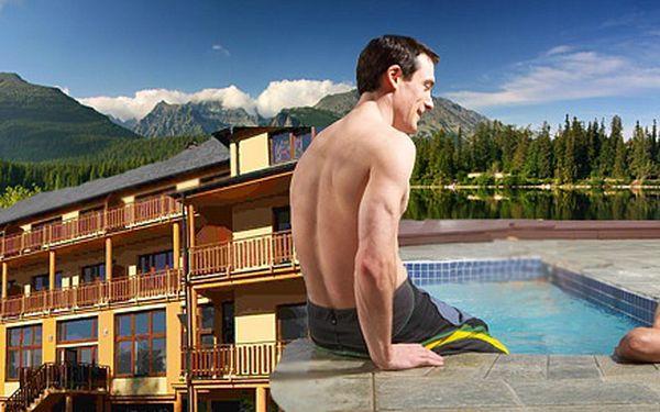 4denní pobyt pro DVA ve Vysokých Tatrách. Bohatá polopenze, neomezený vstup do bazénu a privátní wellness.
