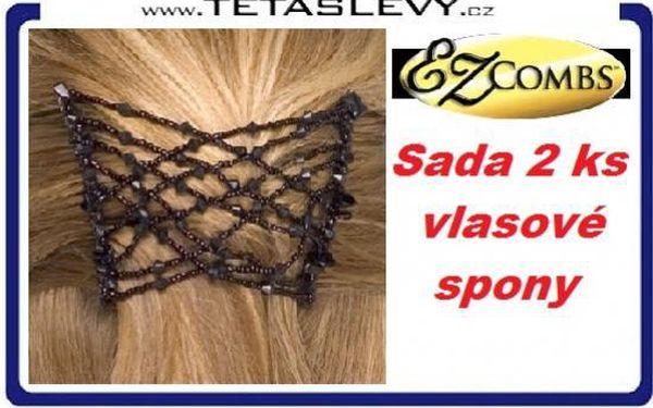 Vlasové spony EZ combs pro super okouzlující účes pro Vás za cenu 130kč poštovné je zdarma