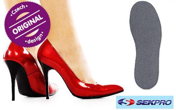 Troje antibakteriální vložky do bot s nanočásticemi stříbra včetně poštovného