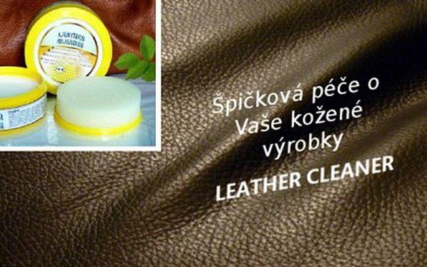 Vítaný pomocník do každé domácnosti ! Pouhých 148 Kč za čistící pastu na kůži včetně aplikační houbičky s desinfekčním a konzervačním účinkem. Kompletní péče na kožené výrobky se slevou 50 %!