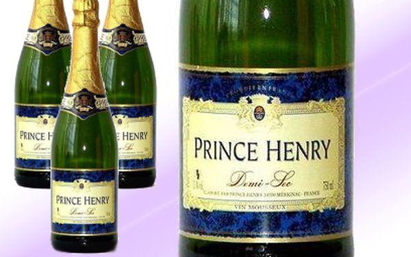 6x luxusní francouzské šumivé víno jen za 414 Kč! Jedna láhev Vás vyjde na pouhých 69 Kč!