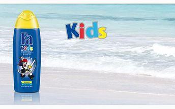 Báječný dárek pro vaše ratolesti ke dni dětí! Balíček dvou sprchových gelů FA Kids za neuvěřitelnou cenu 75 Kč.