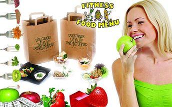 Desetidenní Fitness food menu s pěti jídly denně a rozvozem zdarma po celém Znojmě.