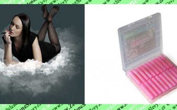 20 ks náplní do elektronické cigarety E-SLIM za neuvěřitelnou cenu, ušetřete s báječnou slevou 139 Kč vč.POSTY!Barva černá,bílá nebo růžová.