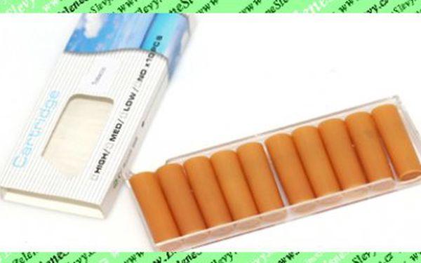 Mimořádná nabídka!20 ks náhradních náplní do elektronické cigarety za pouhých 149 Kč vč. pošty!Barva dle výběru:černá, žlutá.