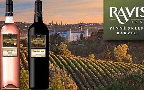 Kolekce tří přívlastkových vín z Rakvic. Degustační set výtečného ročníku 2011 – Rulandské šedé, Zweigeltrebe rosé a Modrý Portugal.