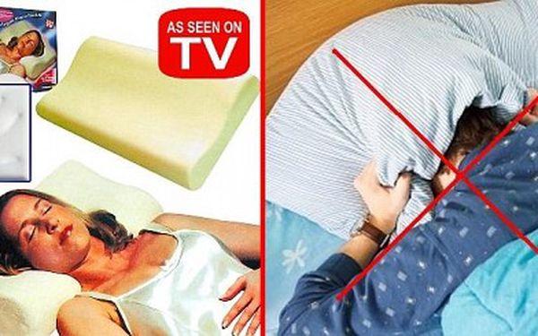 Ortopedický polštář - Comfort Memory Pillow Pouhých 349 Kč za ortopedický polštář COMFORT MEMORY PILLOW. Zdravé a pohodlné spaní se slevou 73 %