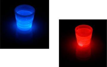 Skvělá sleva 70% na panákové skleničky! Svítí červeně, modře, oranžově a zeleně! Oslavte to!
