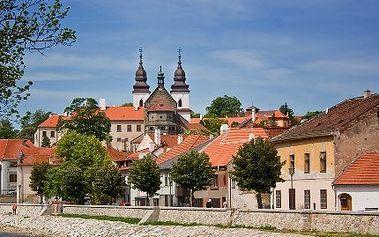 3denní pobyt pro DVA v 4*penzionu v Třebíči (UNESCO) s 53% slevou!