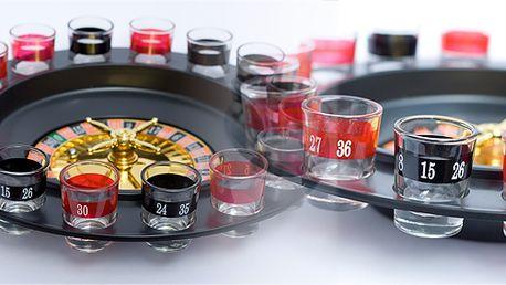 Alkoholická ruleta! Vzbudí v každém soutěživost a rozproudí zábavu!