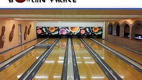 1 hodina BOWLINGU až pro 4 hráče v Bowling Palace v Prostějově jen za 169 Kč!
