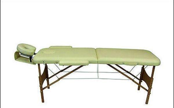 KVALITNÍ MASÁŽNÍ STŮL se slevou 50%? Profesionální třísegmentový masážní stůl včetně kompletního příslušenství jen na Slev