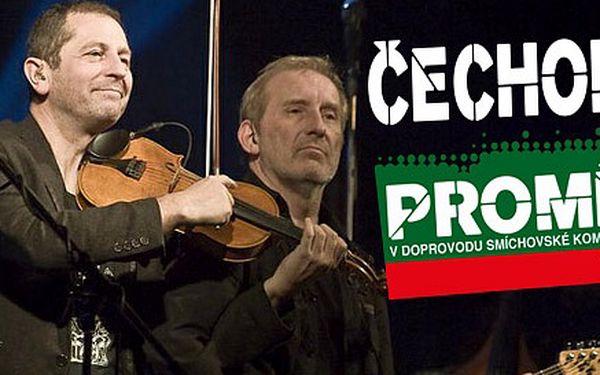 Vstupenka na koncert Čechomoru a Smíchovské komorní filharmonie. Unikátní projekt Proměny po deseti letech s těmi nejslavnějšími písněmi!