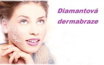 Exkluzivní diamantová mikrodermabraze