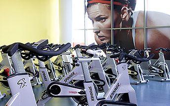 Fitness a kardio, spinning, aerobic, sauna, whirlpool.