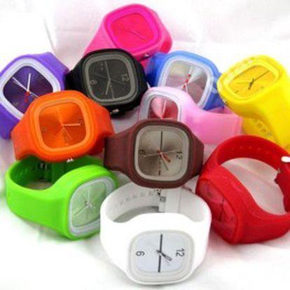 Hit tohoto roku!! Jelly hodinky za úžasnou cenu 89 Kč, sportovní vzhled zpestří nejednu ručku!