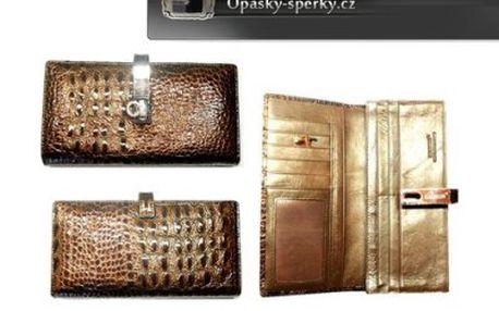 Luxusní kožené peněženky Hassion – s nadčasovým designem. Úžasný doplněk lahodící oku! Skvělý tip na báječný dárek! Na výběr z 9 druhů!