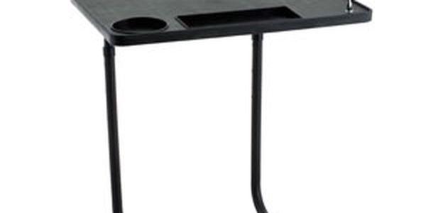Praktický noční stolek s lampou
