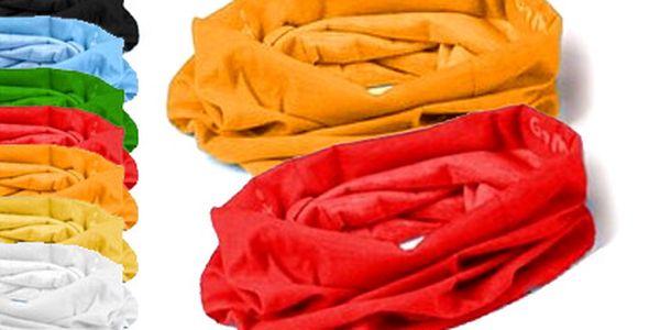 Dva víceúčelové elastické šátky