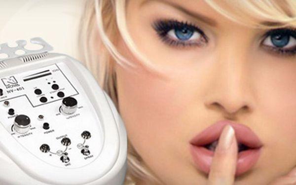 UNIKÁTNÍ KOSMETICKÉ OŠETŘENÍ ŠPIČKOVÝM PŘÍSTROJEM BEAUTY NV-401 se slevou 73%!! Čištění pleti ultrazvukem, lymfatická přístrojová masáž obličeje, ozonizace pleti a mnoho dalšího za 399 Kč!!