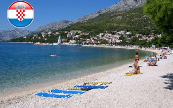 Baška Voda na 8 dní v apartmánech od 953 Kč! Nejlevnější dovolená v Chorvatsku!
