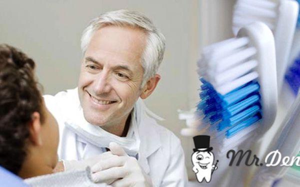 Hygiena AirFlow a bezplatná zubní konzultace ve stomatologické ordinaci na Žižkově Mr.Dent za pouhých 750 Kč! Péče o Vaše zuby se slevou 50%!