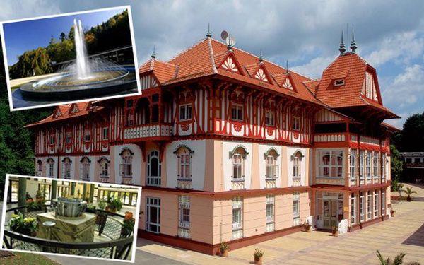 3 denní pobyt pro 2 osoby se snídaní v krásném lázeňském městě Luhačovice.