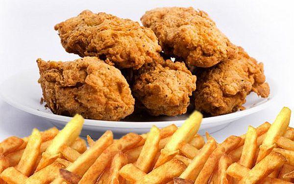 99 Kč za kilo smažených KUŘECÍCH KŘIDÝLEK s půlkilem bramborových hranolků a pikantní omáčkou. Přijďte se pořádně nadlábnout!