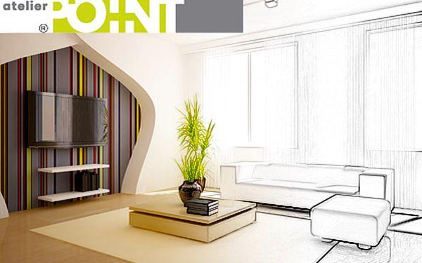 Návrh interiéru od architektů z atelieru POINT