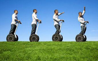 60minutová jízda na Segway – adrenalin, zábava, relax. Buďte svobodní, nevázaní a dopřejte si originální aktivní odpočinek za báječnou cenu!