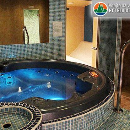 Luxusní wellness pobyt pro 2 v Beskydech v hotelu Odra*** s polopenzí a wellness balíčkem.