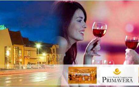 Exkluzivní pobyt v Hotelu PRIMAVERA**** na jednu noc pro dvě osoby s polopenzí se slevou 50%