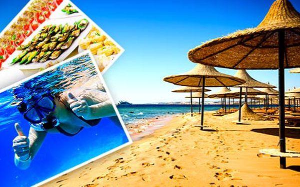 Osmidenní Egypt letecky s All Inclusive pro 1 osobu – ubytování ve 4* nebo 5* hotelech přímo u pláže