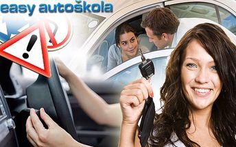 Autoškola rychlokurz řízení pro skupinu B v Easy autoškole v Plzni. Skvělý dárek k maturitě.