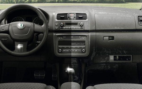 DŮKLADNÉ KOMPLEXNÍ RUČNÍ ČIŠTĚNÍ INTERIÉRU osobního auta suchou cestou s 53% slevou jen za 699 korun!! Použití špičkové autokosmetiky Sonax Xtreme!! Ušetřete s námi 801 korun!!