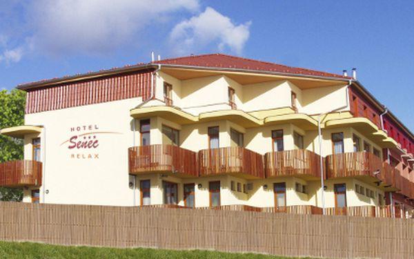 4 nebo 7 dní se snídaní v hotelu Senec Relax*** od 2721 Kč! Včetně vstupu do aquaparku!