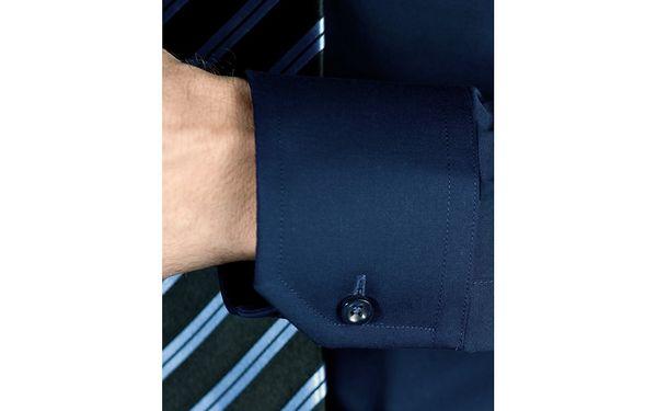 Pánská košile Vincenzo Boretti - tmavě modrá