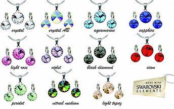 Luxusní sada s originálními krystaly Swarovski!